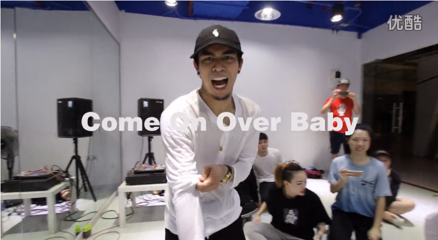 Jerould Jorge 编舞 Come On over Baby - Urbandance Workshop
